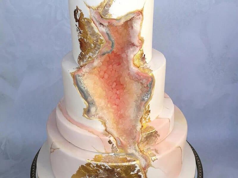 Wedding Cake by Sylvia