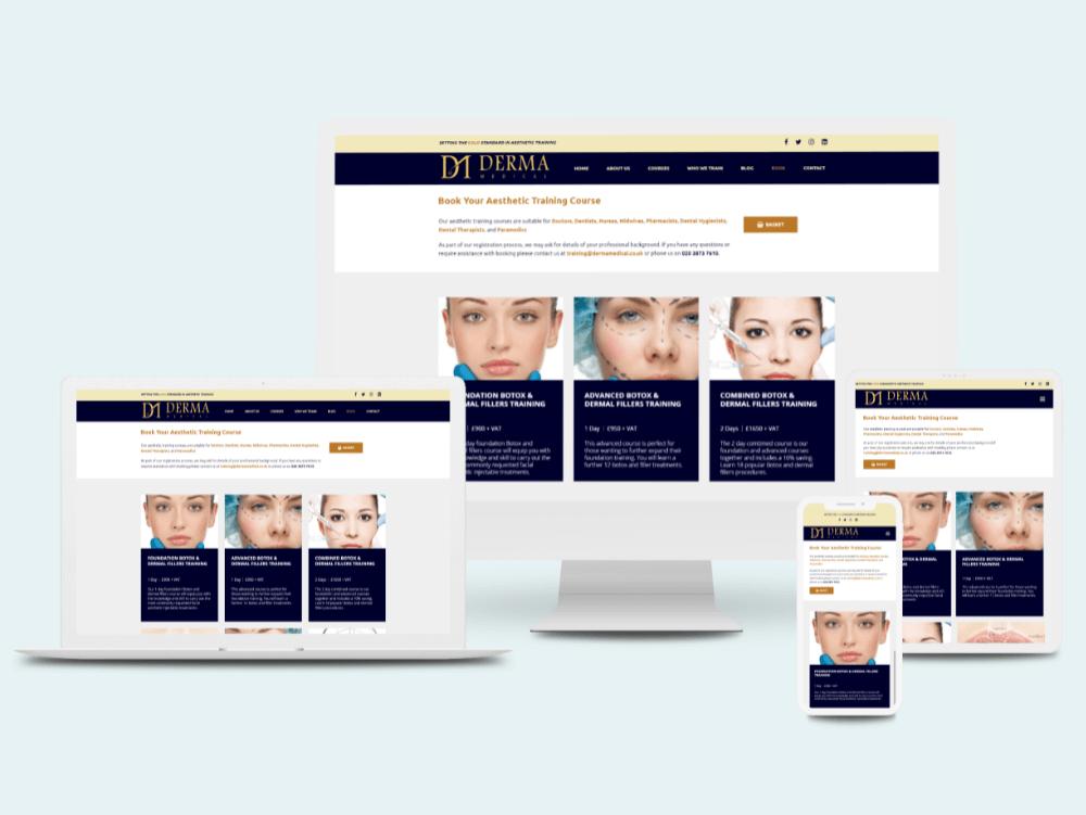 Derma Medical Website