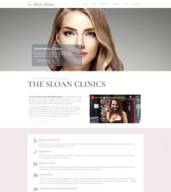 The-Sloan-Clinics-Website