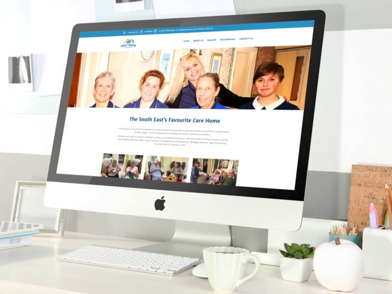 Crest House Homepage