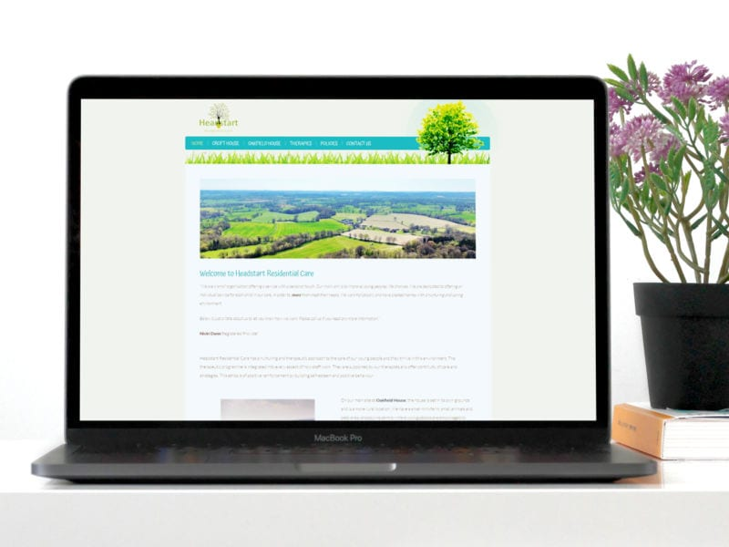 Headstart Care Home Page