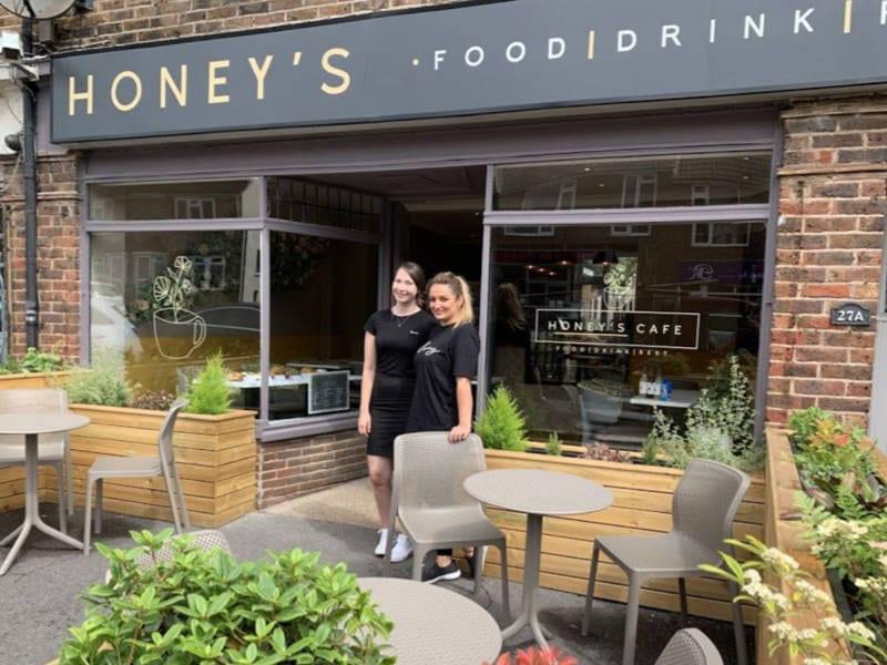 Honey's Cafe Shop Front