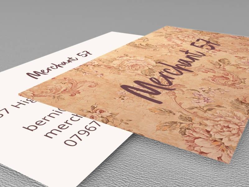 Merchant 57 Business Card Design