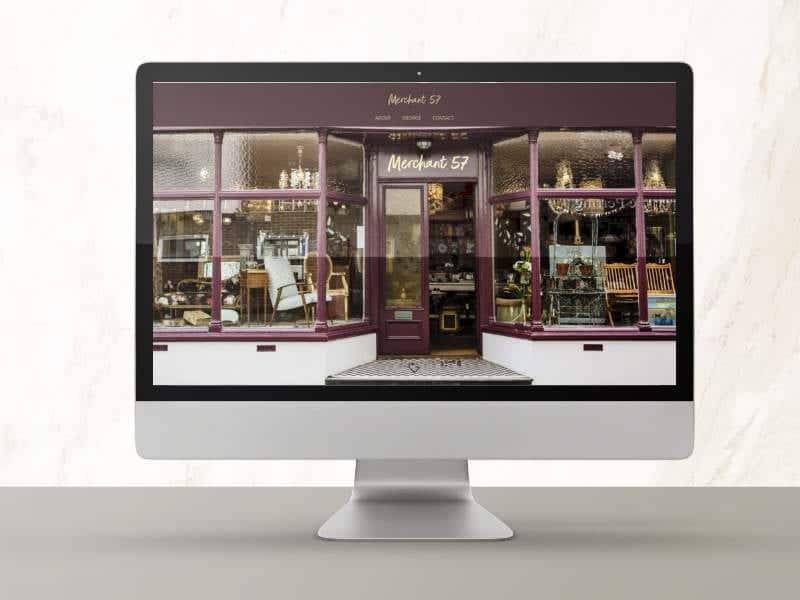 Merchant 57 Website Design
